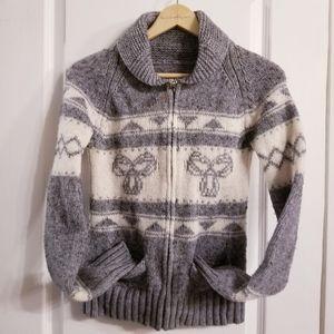 Aritzia TNA Sea to sky wool sweater